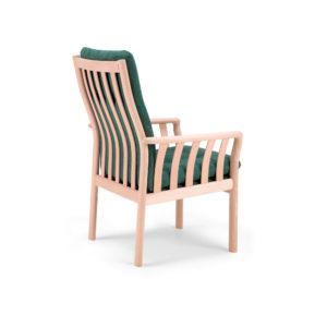 321 lænestol med høj ryg